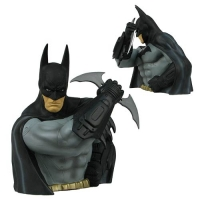 Batman Arkham Asylum Batman Previews Exclusive Bust Bank