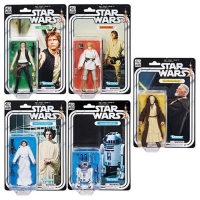 Star Wars Black Series Actionfiguren 15 cm 40th Anniversary Wave 1 Set